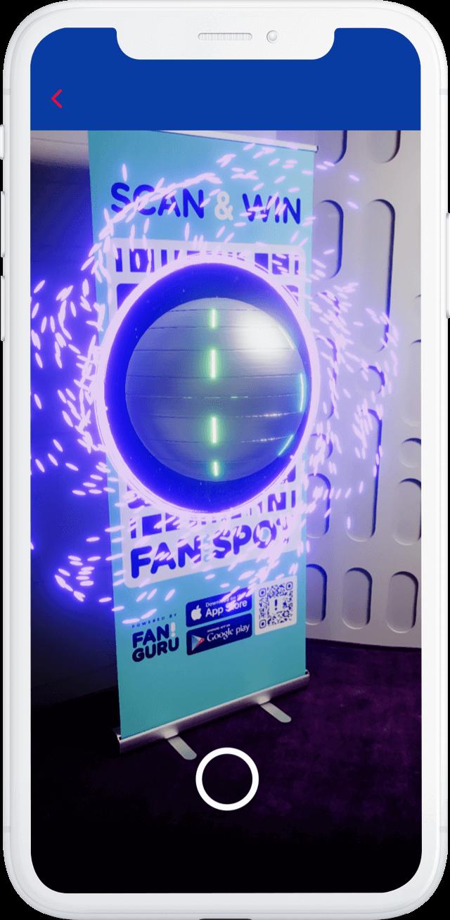 Fan Guru AR portal